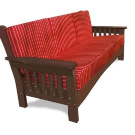 Outdoor Poly Furniture - Poly Lumber Loveseat
