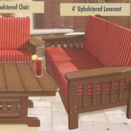 4' Loveseat #MISC005 --  Contact us for fabric choices