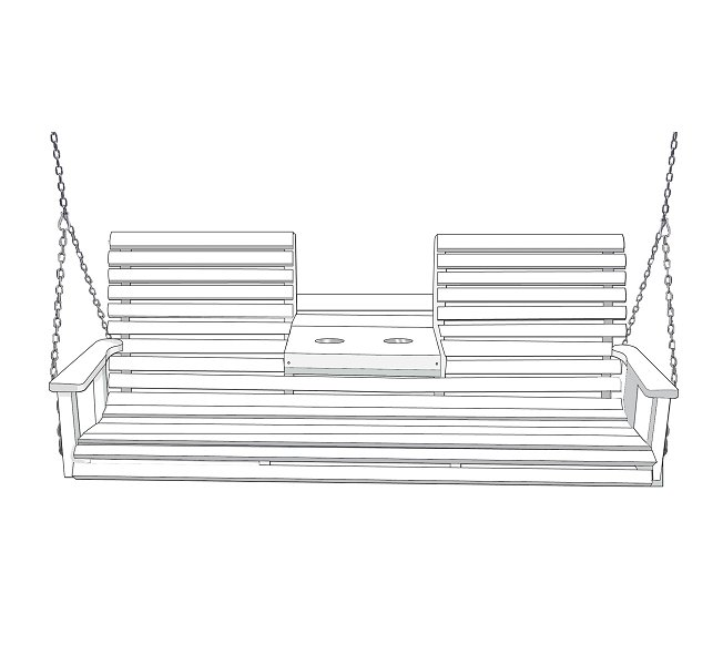 Patio Furniture Hickory Nc: Outdoor Poly Furniture Swings